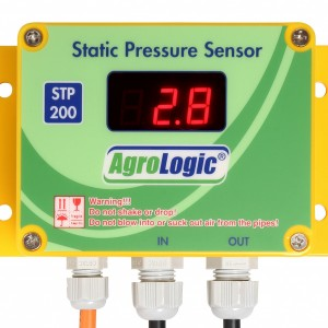 sensitive static pressure sensor