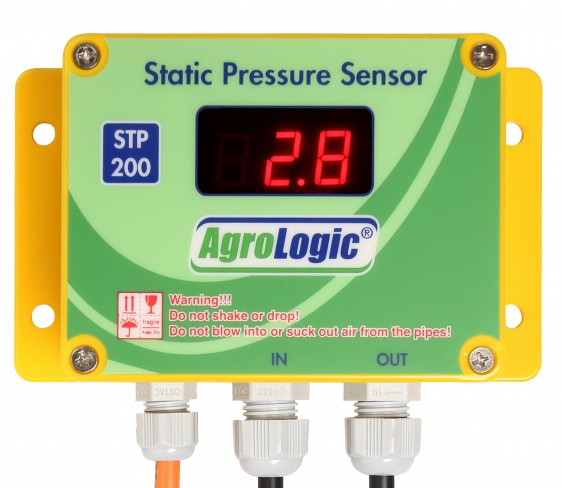 sensitive static pressure sensor